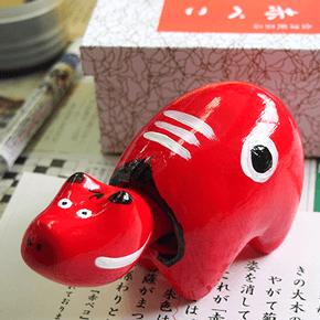 """赤べこ伝説に感動。会津で""""マイ赤べこ""""を作りました。"""