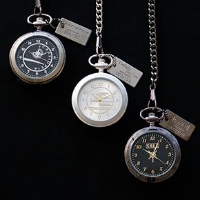 数量限定!「カシオペア」「トワイライトエクスプレス」「C62 2」モチーフの懐中時計