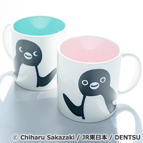 仲良く使いたい! Suicaのペンギン ペアマグカップ