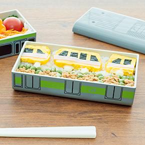 便利な保冷パック付き♪「山手線 E231系」と「Suicaのペンギン」のランチボックスで召し上がれ